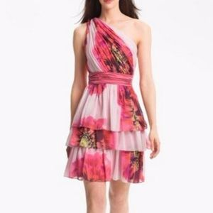 Max and Cleo One Shoulder Dress